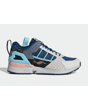 """National Park Foundation x Adidas ZX 10000 C """"Crater Lake"""" Azules FY5173"""