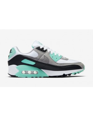 Nike Air Max 90 Blancas/Grises-Turquoise CD0490-104
