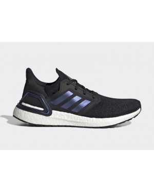 adidas Ultra Boost 2020 Negras/Azules Violet Metálico EG0692