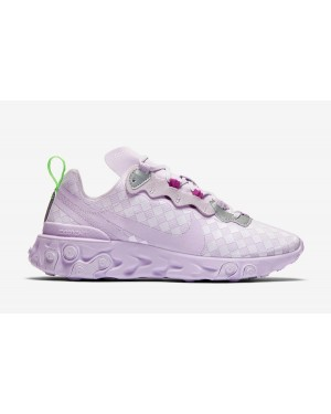 Nike React Element 55 Mujer Barely Grape CN0146-500