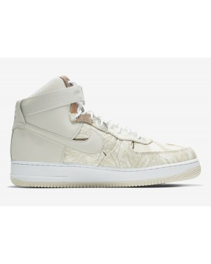Nike Air Force 1 High Realtree Blancas Grises AO2410-100