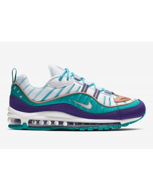 Nike Air Max 98 'Court Púrpura/Terra Blush-Spirit Teal' 640744-500