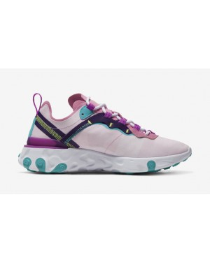 Nike Mujer React Element 55 Rosas Sneakers BQ2728-603