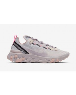 Nike React Element 55 Grises Violet CW2369-001