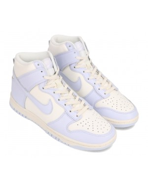 """Nike Dunk High Mujer """"Grises"""" Sail/Grises-Pale Ivory DD1869-102"""