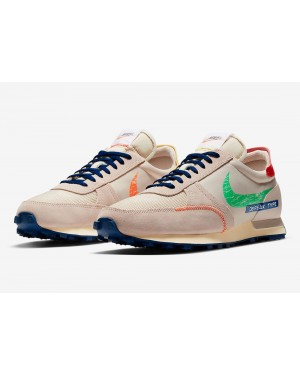 "Nike Daybreak Type SE ""Label Maker"" Oatmeal/Fossil Stone-Azules-Verdes DC8086-140"