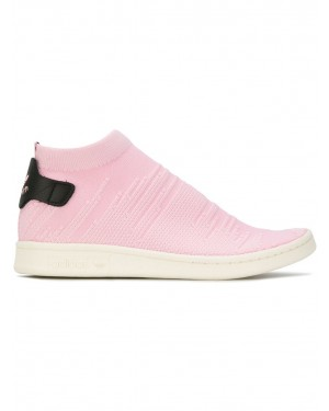 Adidas By9250 Mujer Stan Smith Sock PK Tennis Zapatillas Rosas