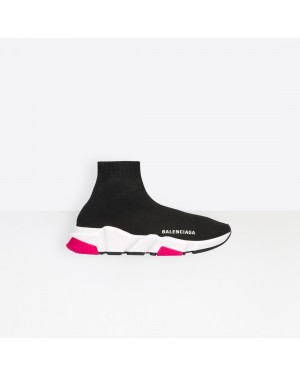 Balenciaga Mujer Speed Trainers with tricolor sole Negras 540681W05G01000