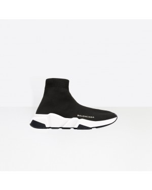 Balenciaga Mujer Speed Trainers with Blancas and Negras textured sole Negras 477289W05G01000