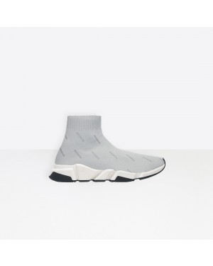 Balenciaga Mujer Speed Trainers Grises 530098W06501224