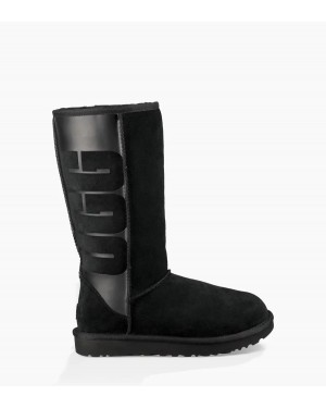 Mujer Classic Tall Rubber Boot Negras 1096471