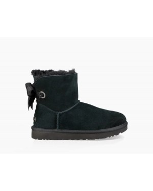 Mujer Customizable Bailey Bow Mini Boot Negras 1100212