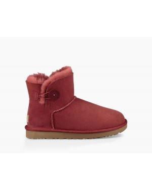 Mujer Mini Bailey Button Ii Boot Rojas 1016422