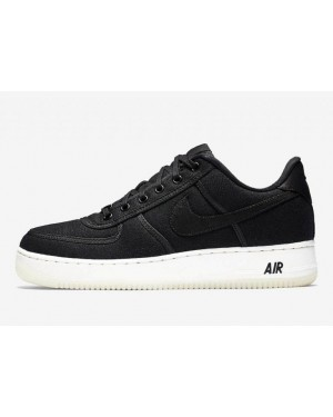 Nike Air Force 1 Low Canvas Negras | AH1067-004