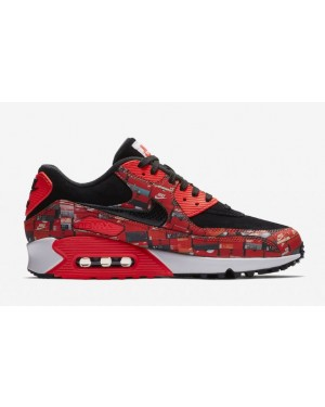 Nike aq0926-001 Atmos X Nike Air Max 90 Print We Love Nike Hombre