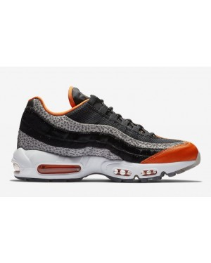 Nike Air Max 95 'Safari' Negras/Granite/Naranjas AV7014-002