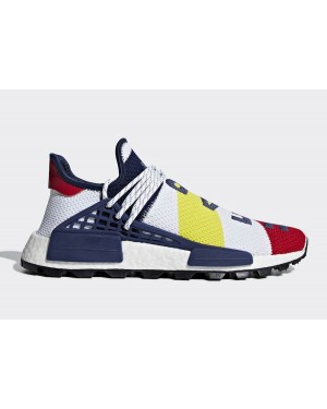Pharrell Williams x Adidas NMD Hu BBC Rojas Multi | BB9544