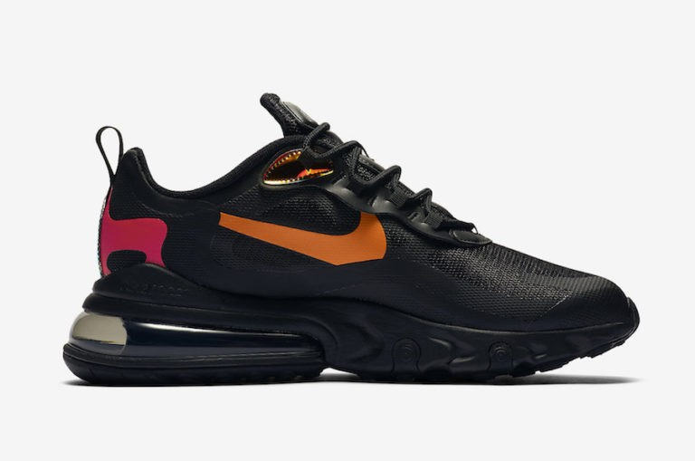 Nike Air Max 270 React Negras CV1641-001