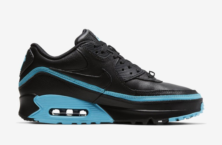 Undefeated x Nike Air Max 90 Negras/Azules CJ7197-002