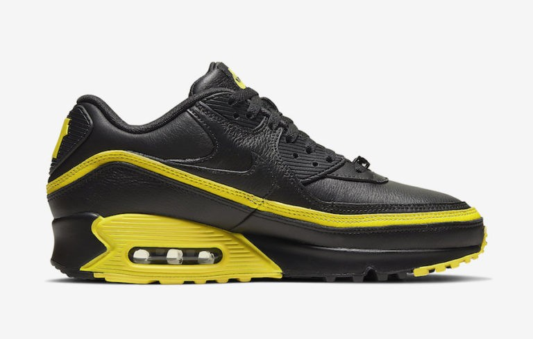 Undefeated x Nike Air Max 90 Negras/Amarillas CJ7197-001
