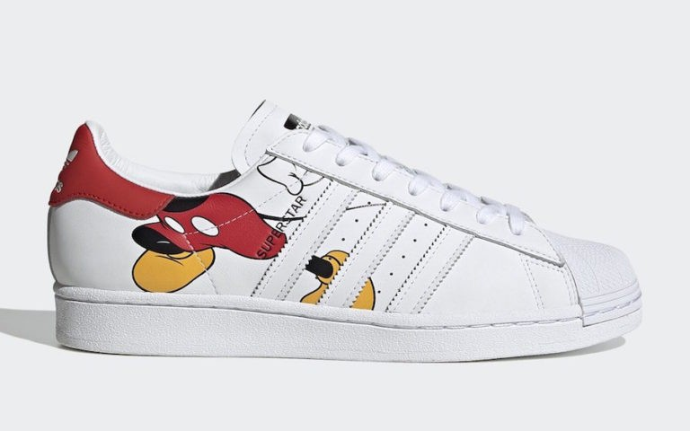 Mickey Mouse x adidas Superstar Blancas FW2901
