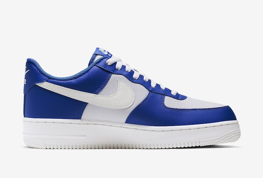 Nike Air Force 1 Low Azules Blancas Grises CI0056-400