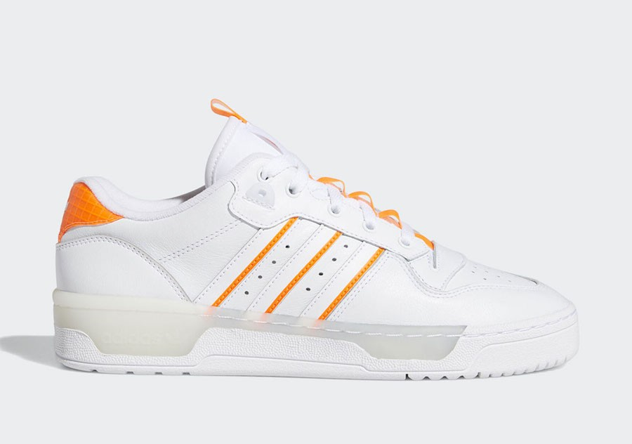 adidas Rivalry Low Blancas Naranjas EE4965