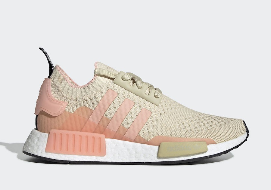 adidas NMD R1 Desert Sand Rosas Mujer - EE6434