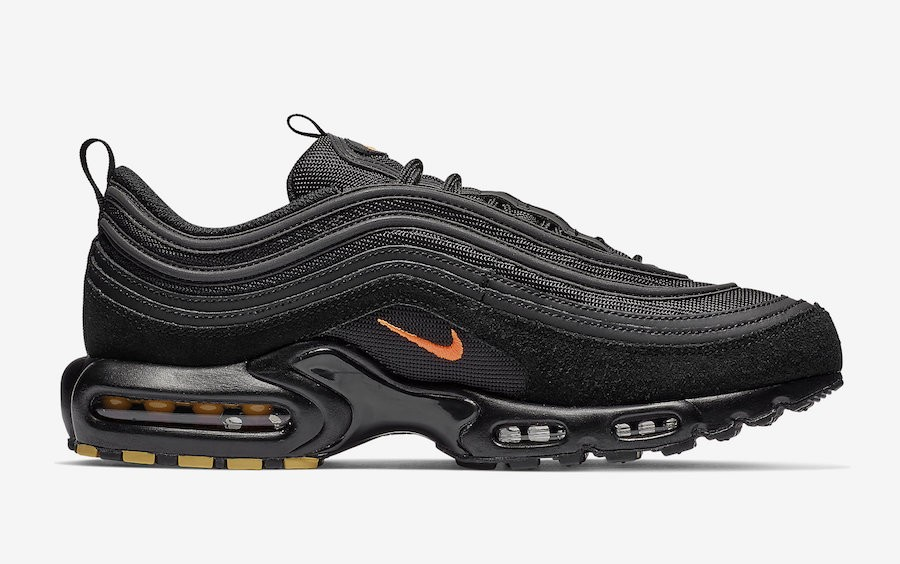 Nike Air Max Plus 97 Negras Naranjas CD7862-001