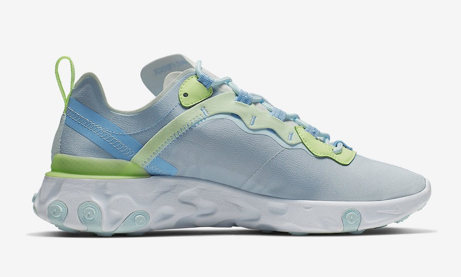 Nike React Element 55 Frosted Spruce BQ2728-100