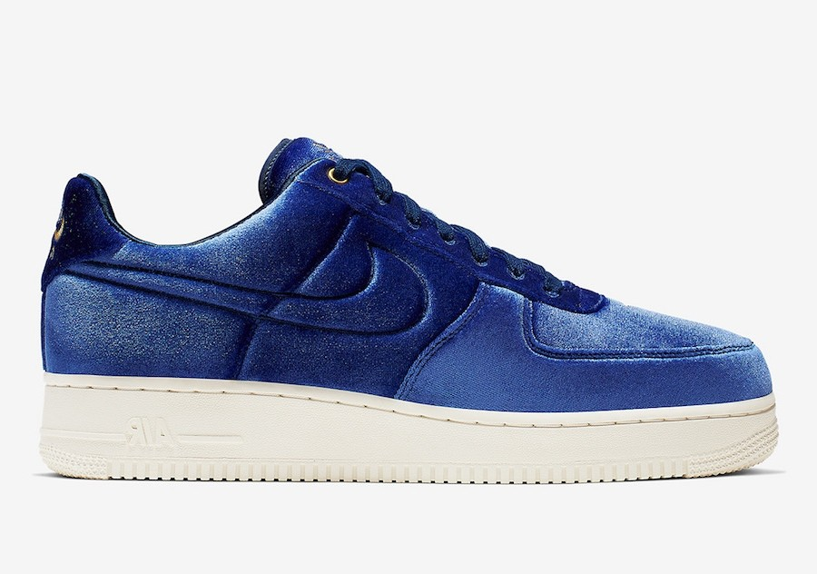 Nike Air Force 1 Low '07 Premium 'Azules Velour' AT4144-400