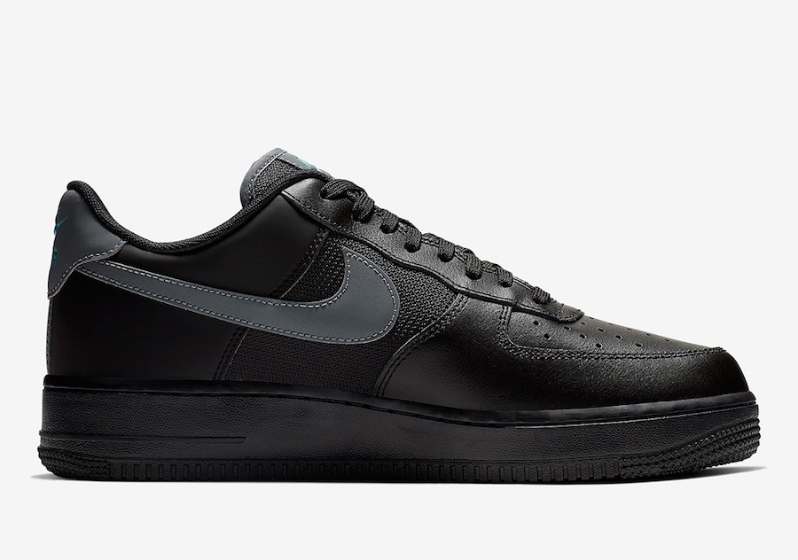 Nike Air Force 1 Low Negras Azules BV1278-001