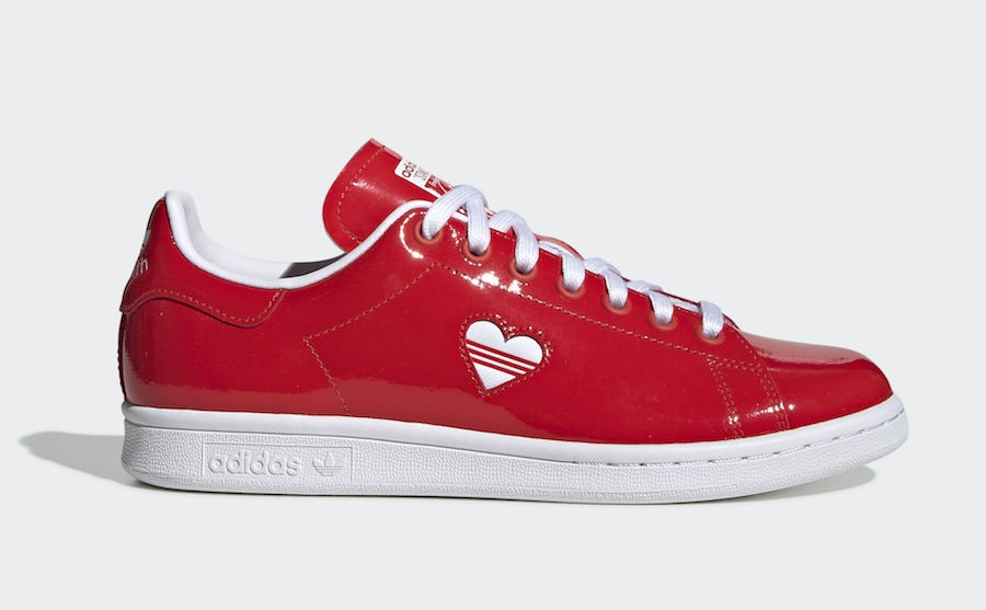 adidas Stan Smith Valentine's Day G28136 Rojas