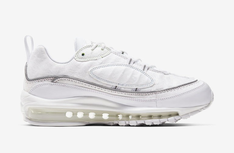 Nike Air Max 98 Cut Away Blancas - CJ0634-101