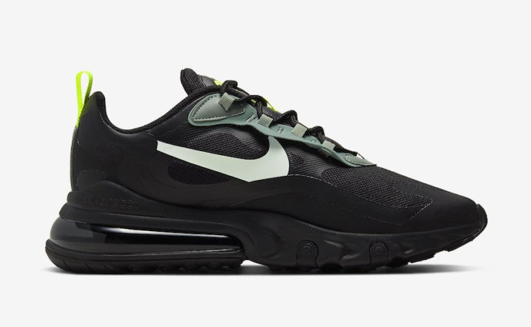 Nike Air Max 270 React Negras Volt CW7474-001