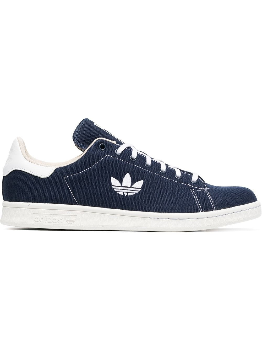detailed look 6076c 6e2da Adidas Stan Smith Collegiate Navy AQ0836