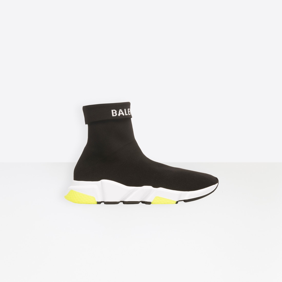 Balenciaga Mujer Speed Trainers with tricolor sole Negras 525725W1GV01006