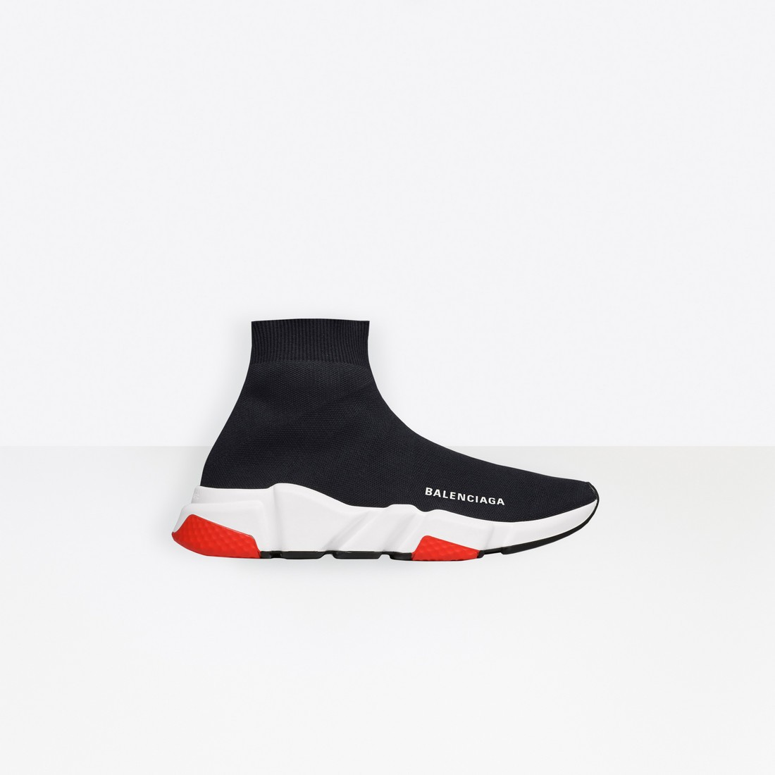 Balenciaga Mujer Speed Trainers with tricolor sole Negras 525715W05G01000