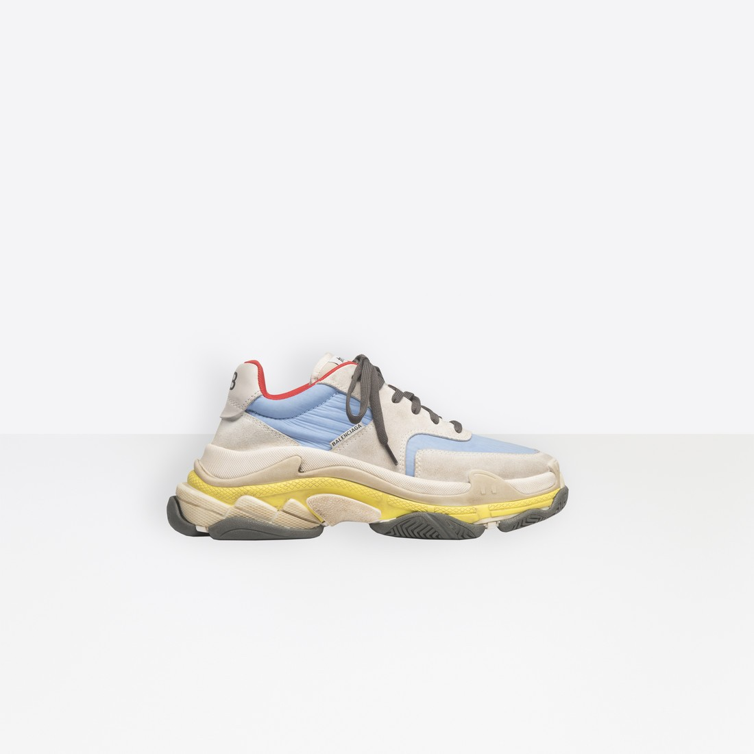 Balenciaga Mujer Triple S Trainers Grises 524043W09T21218