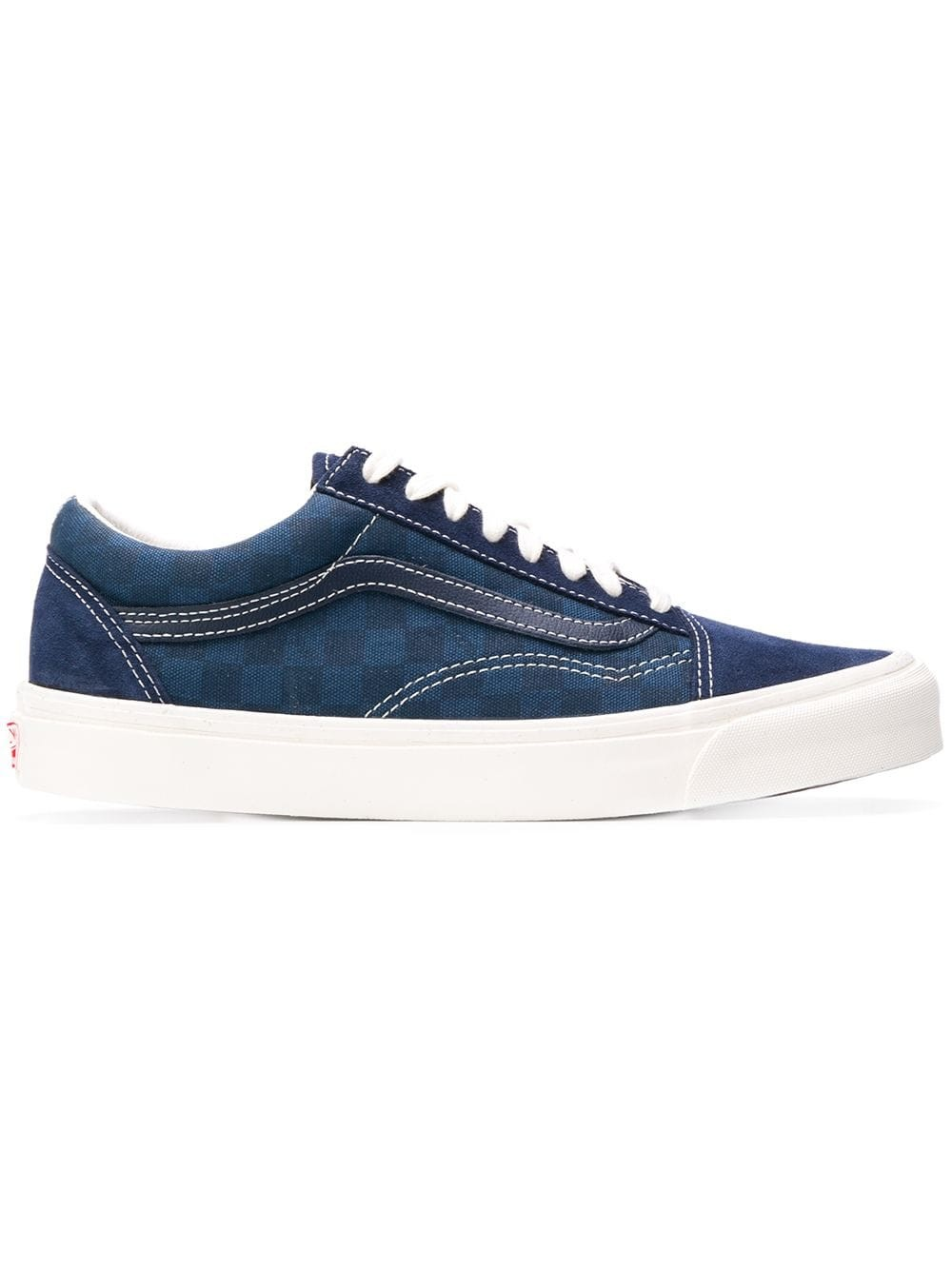 Vans Checked Lace-up Sneakers VA36C8U9 Azules