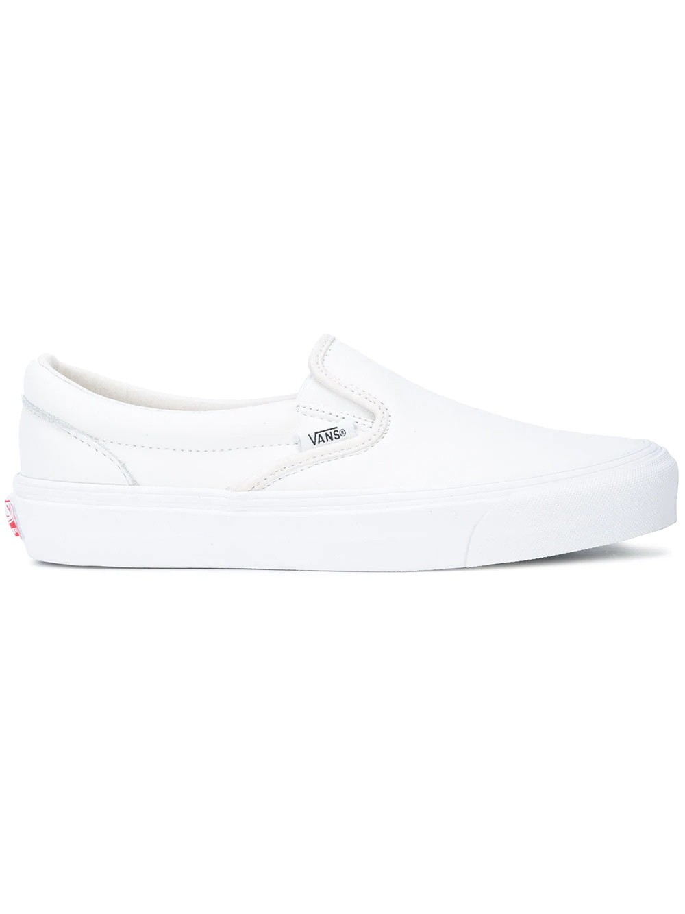 Vans Vault OG Classic Slip-On Blancas Leather VN000UDF1NT
