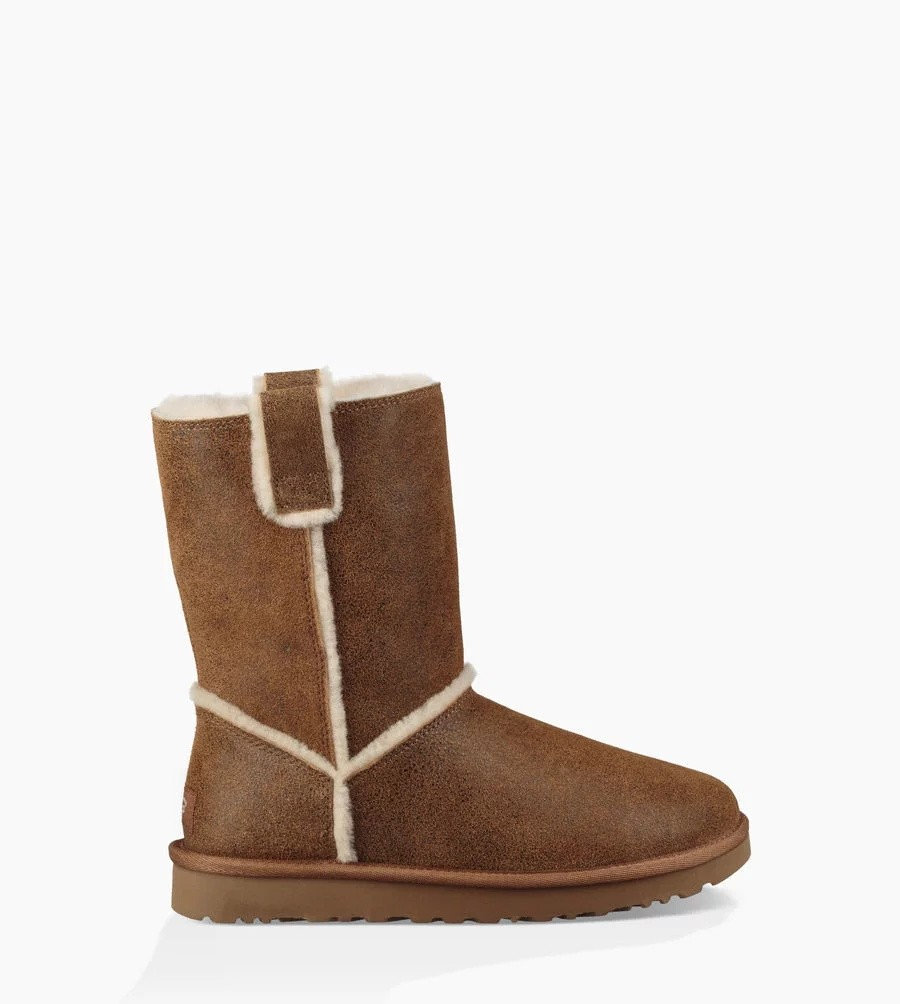 Mujer Classic Short Spill Seam Boot Marrónes 1098409