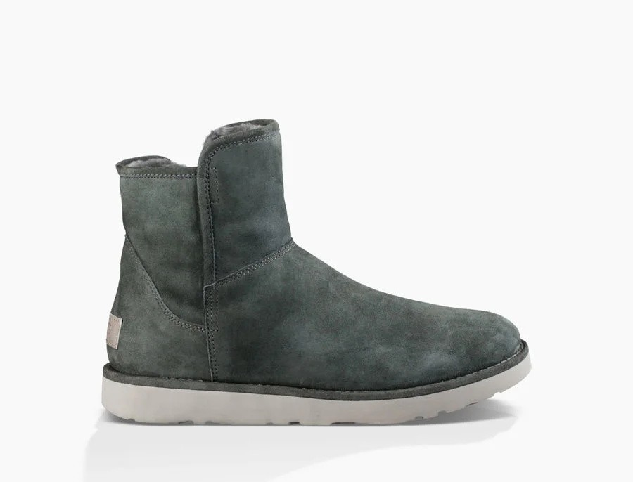 Mujer Abree Mini Boot Grises 1016548