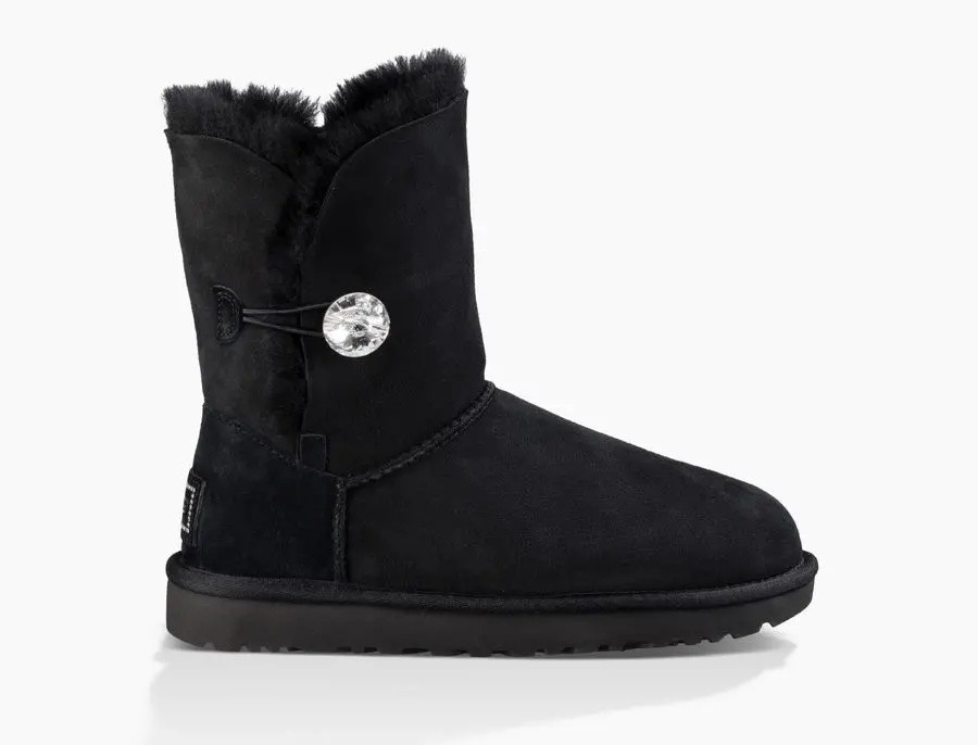 Mujer Bailey Button Bling Boot Negras 1016553