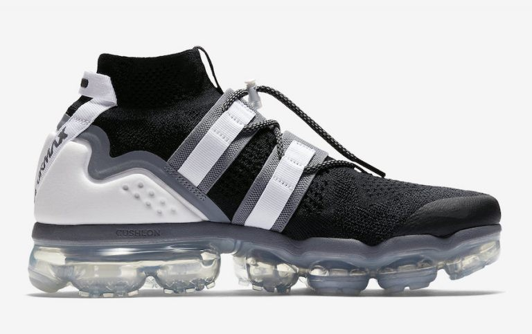 Nike Air VaporMax Flyknit Utility Negras Grises AH6834-003