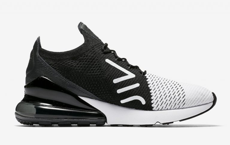 Nike Air Max 270 Flyknit Trainers Blancas AO1023-100