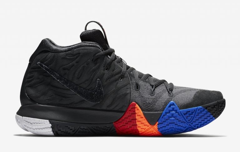 Nike Kyrie 4 Year of The Monkey Hombre 943806-011 Negras Grises