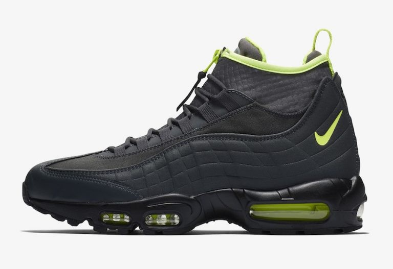 Nike Air Max 95 Sneakerboot Negras Amarillas 806809-003