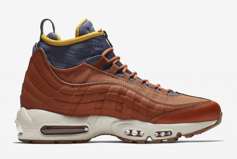 Nike Air Max 95 Sneakerboot Marrónes 806809-204