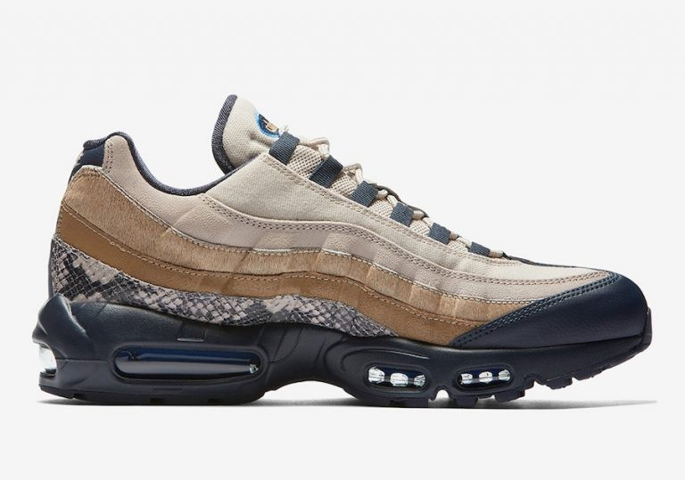 Nike Air Max 95 Snakeskin Marrónes | AT6152-001